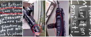 """Attentato Nuova Zelanda. """"Luca Traini"""", """"Migration compact"""", """"Kebab remover"""": le scritte sui fucili usati dal terrorista"""
