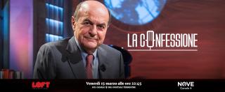 """La Confessione (Nove), Gomez a Bersani: """"Perché non intervenne quando Violante disse che fu garantito a Berlusconi il conflitto d'interessi?"""". """"Non sapevo niente"""""""