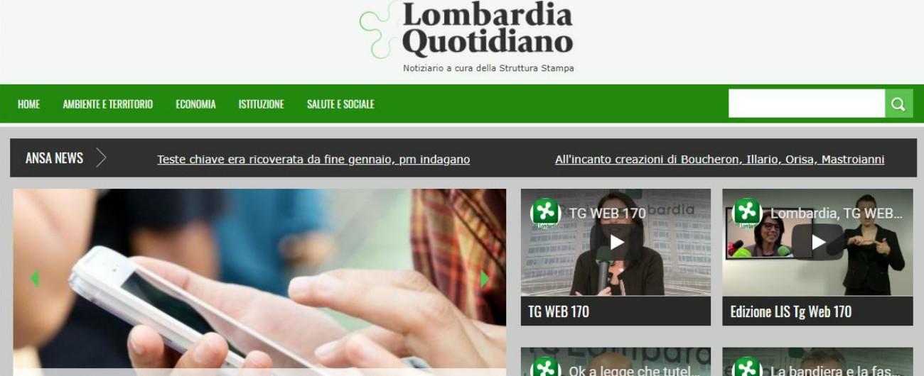 Lombardia, l'ufficio stampa del Pirellone (con quattro redattori) assume due vicedirettori. E uno è un politico leghista