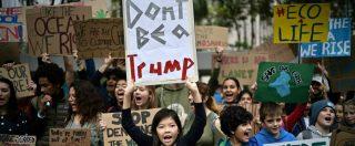 """Sciopero per il clima, milioni di giovani nelle piazze di tutto il mondo: """"Non c'è un pianeta B, non fate come Trump"""""""