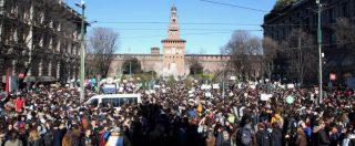 """Sciopero clima, trentamila persone in piazza a Milano: """"Non ci bastano le parole dei governi, vogliamo fatti"""""""
