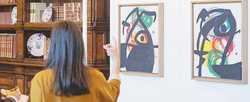 Miró il plagiatore di materia ora si affaccia sul Fontanone