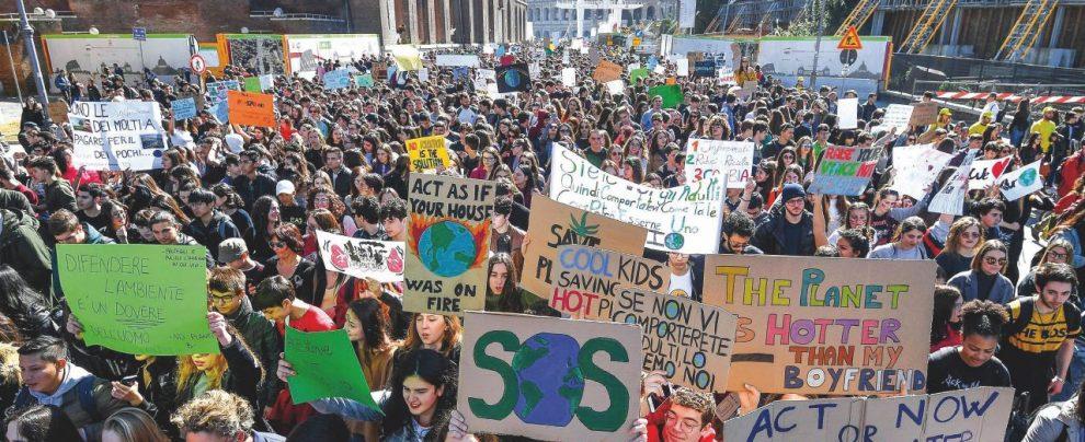 Tutti in sciopero per il clima: il mondo salvato dai ragazzini