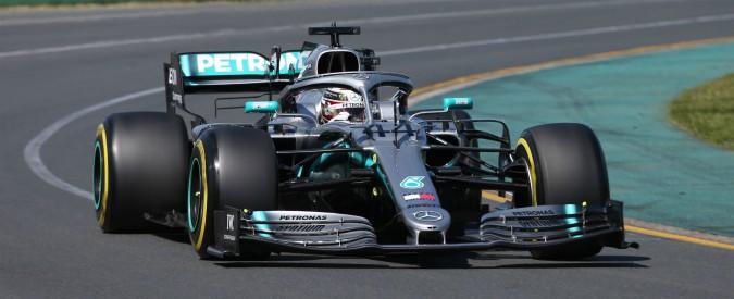 F1, qualifiche del Gp d'Australia. Tutto come prima: Hamilton in pole, poi Bottas. Vettel terzo, Leclerc quinto