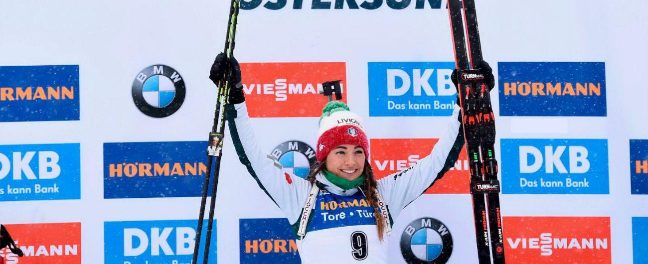 Biathlon, doppio oro nella mass start: impresa di Dorothea Wierer e Dominik Windisch