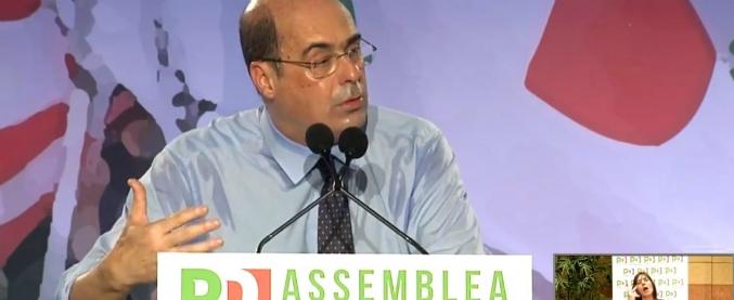 Zingaretti proclamato segretario Pd dall'Assemblea: 'Dobbiamo cambiare tutto'. Gentiloni presidente, Zanda tesoriere