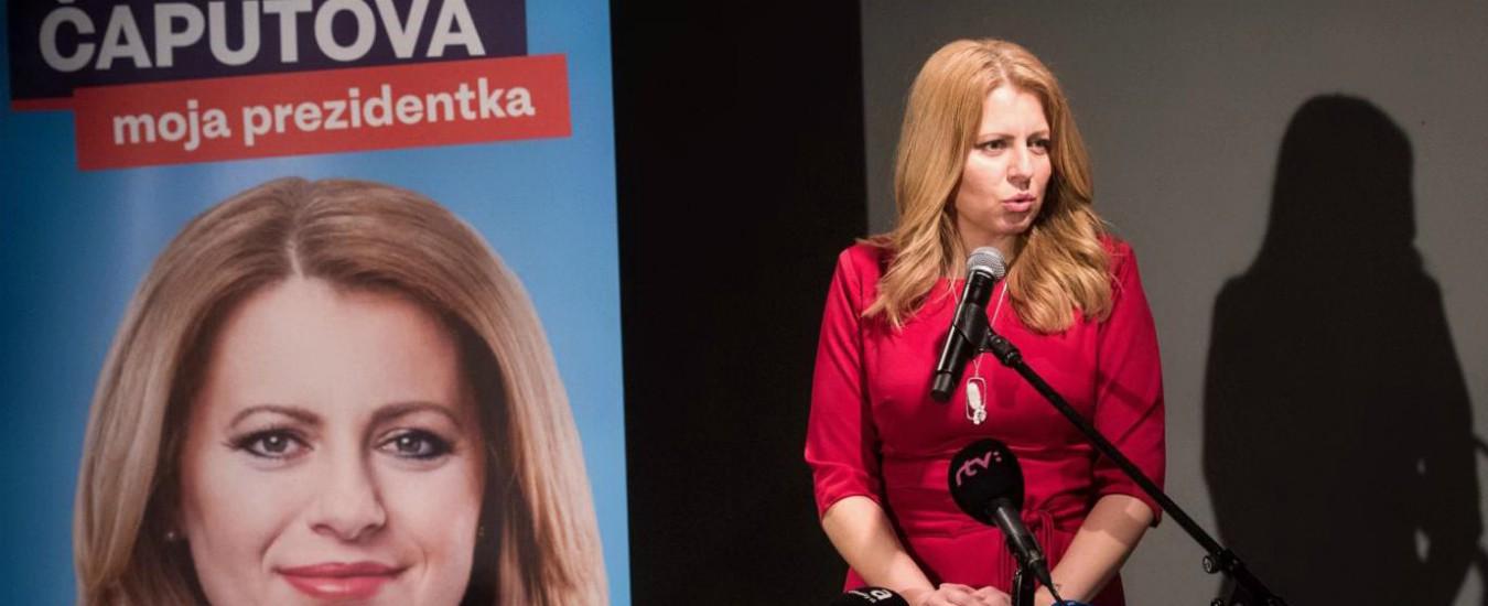 Elezioni in Slovacchia: sovranisti fuori dal ballottaggio. Il successo dell'avvocatessa Zuzana Caputova, liberale e ambientalista