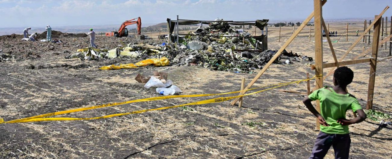 "Incidente Ethiopian Airlines, ""evidenti somiglianze con il volo Lion Air"""