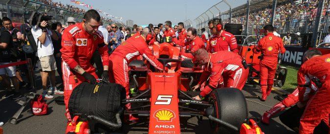 Gp d'Australia, Mercedes batte Ferrari. La nuova SF90 soffre le guerre interne?