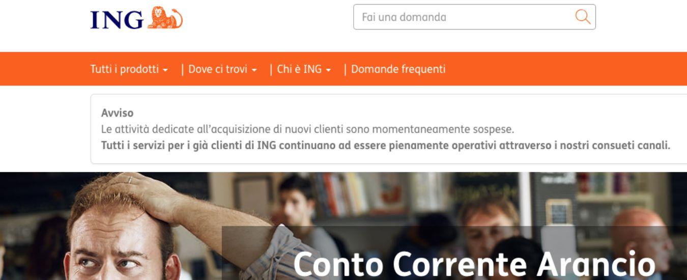 """Ing Direct, """"carenze nell'applicazione di norme antiriciclaggio"""". Bankitalia sospende le acquisizioni di nuovi clienti"""