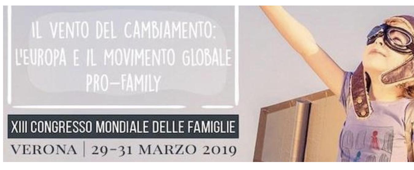 """Risultati immagini per Verona, """"Il Congresso della Famiglia è agghiacciante"""""""