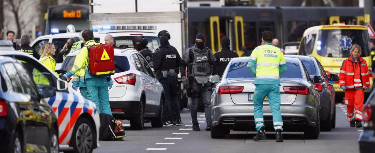 Utrecht, tre morti e cinque feriti. L'uomo sospettato arrestato: l'ipotesi è che abbia agito per motivi personali