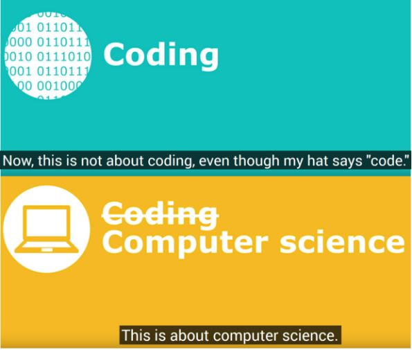 Non è (solo) il coding che deve essere insegnato, ma l'infor