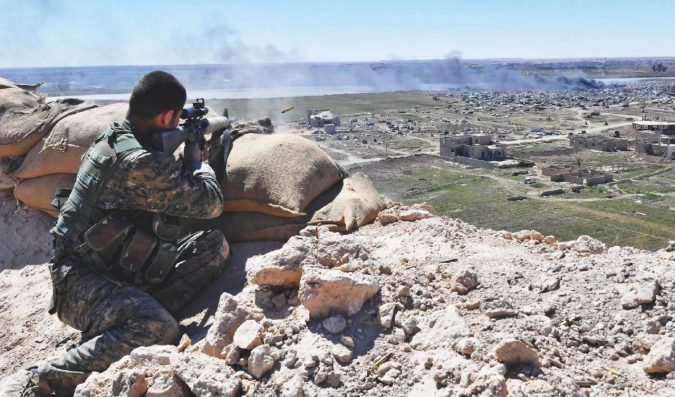 """Orso Tekosher, il """"lottatore"""" che voleva sgominare l'Isis"""