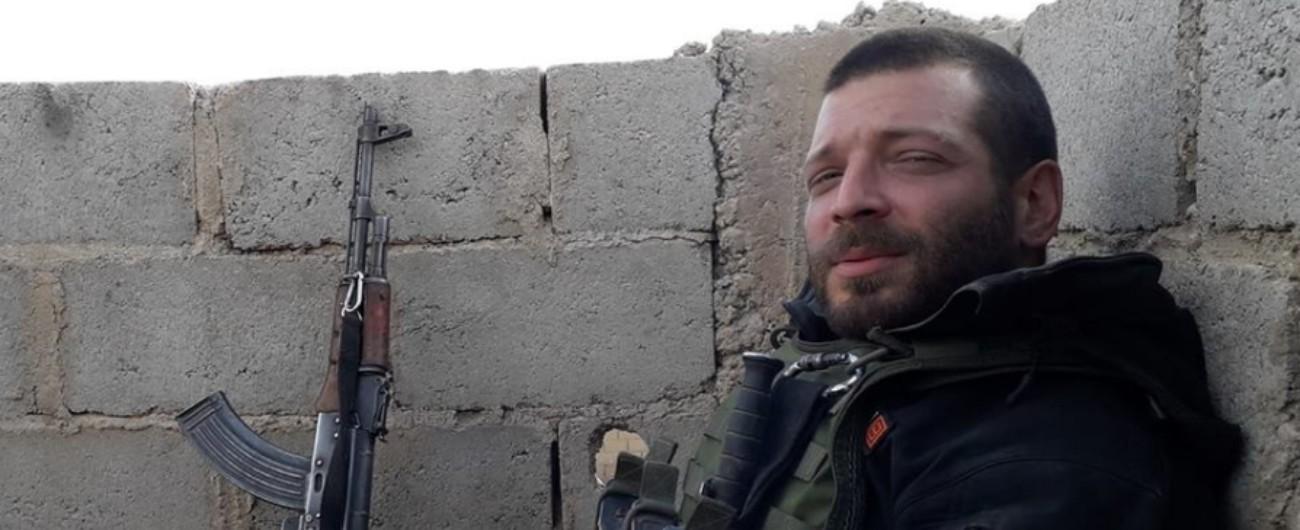 """Orsetti, il compagno di armi Grasso: """"In Siria lottava per i suoi ideali, felice di stare lontano da mediocrità e xenofobia"""""""