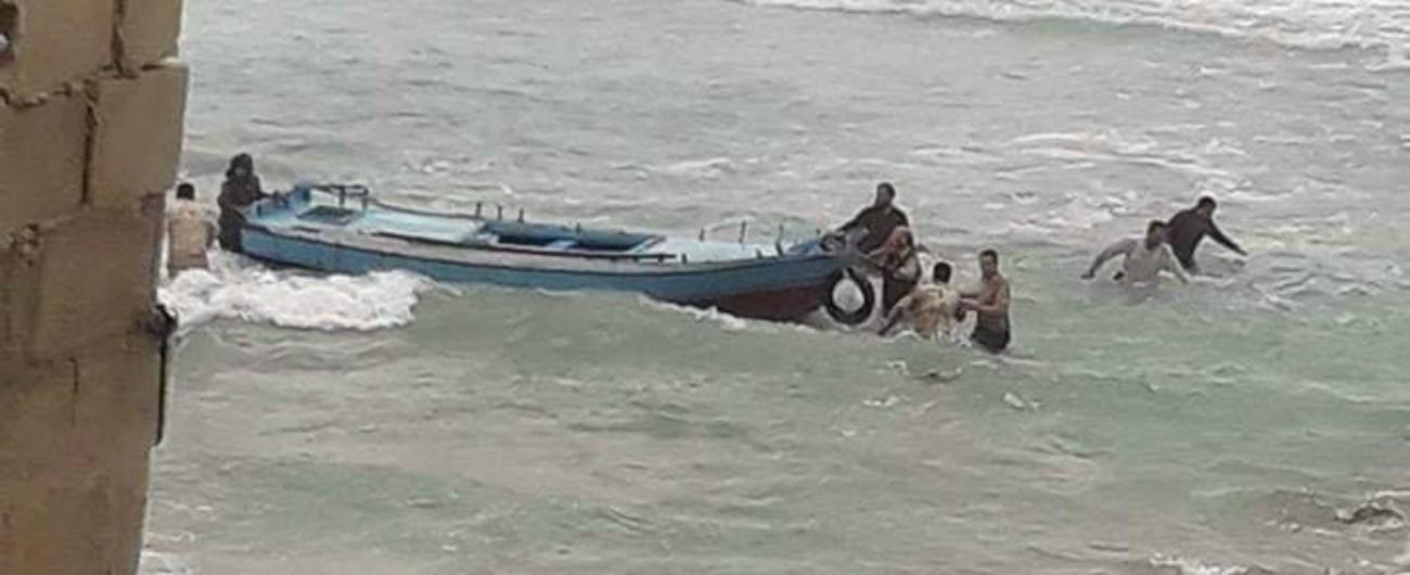 Libia, naufragio davanti a Sabrata: morto un bambino, almeno 8 persone disperse