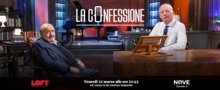 """La Confessione (Nove), Gomez a Costanzo: """"Berlusconi nel 94 le chiese un parere sulla politica?"""". """"Dissi 'non ti voterò mai"""