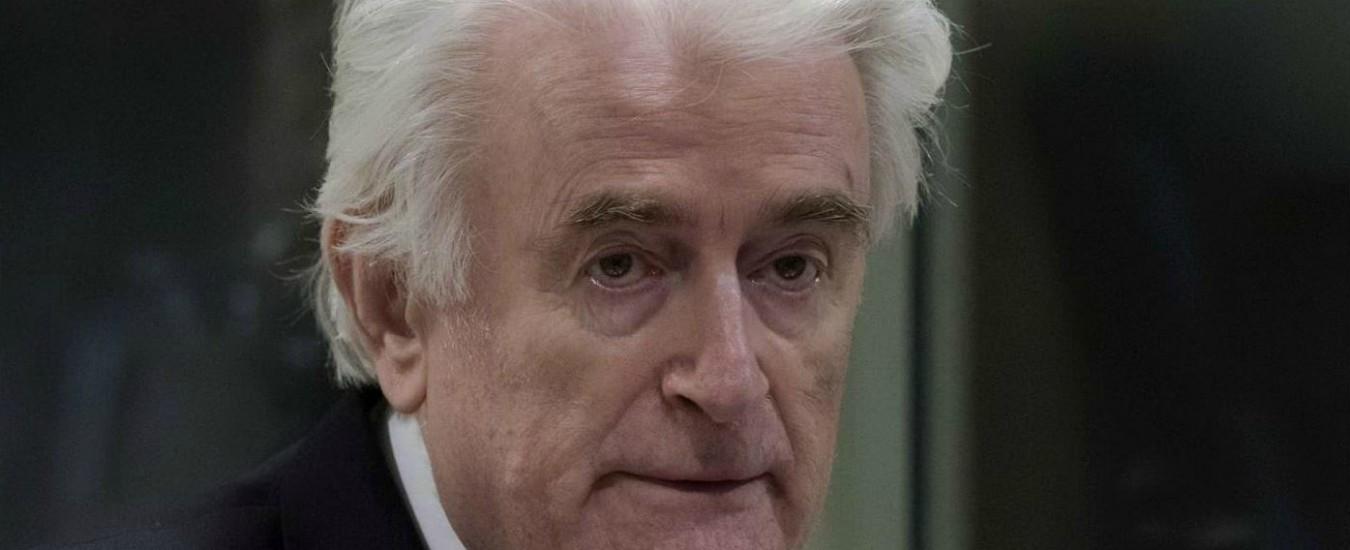 Ex Jugoslavia, Radovan Karadzic condannato all'ergastolo per il genocidio di Srebrenica e crimini contro umanità