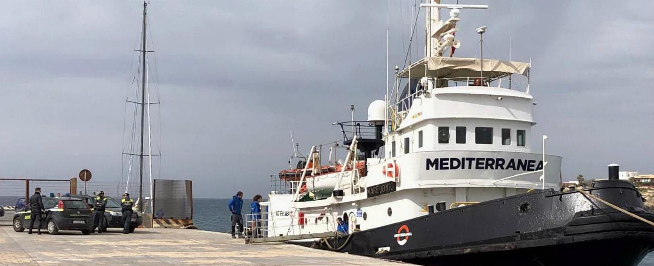 """Migranti, ong Mediterranea Saving Humans: """"Torniamo in mare con imbarcazione battente bandiera italiana"""""""