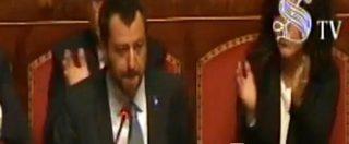 """Diciotti, Salvini legge il suo intervento al Senato: """"Scusate, sono emozionato"""". Poi ringrazia M5s: """"Cose si fanno in due"""""""