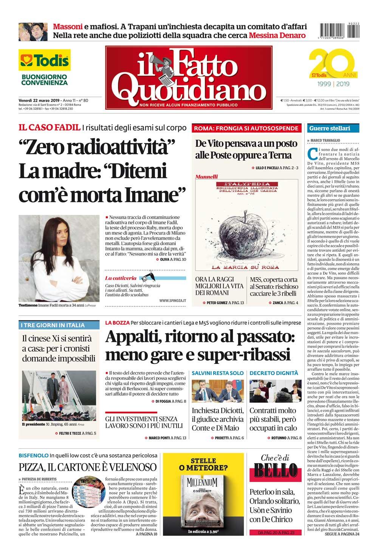 Fatto Quotidiano Giornale Wwwimagenesmycom