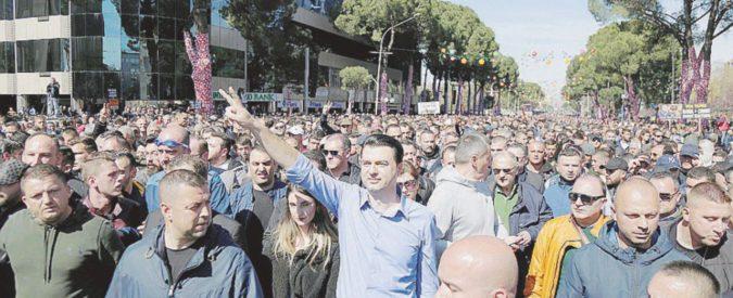 """""""No all'Albania paradiso di droga e riciclaggio"""""""