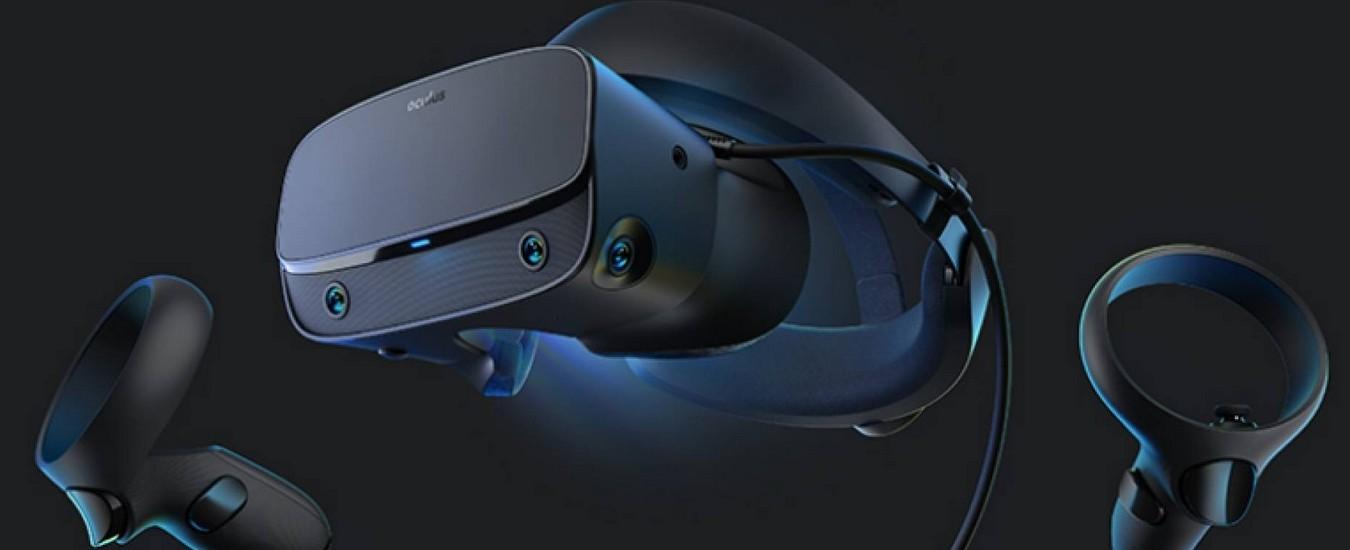 Oculus Rift-S è il nuovo visore per la Realtà Virtuale, arriverà in primavera a 449 euro
