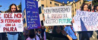 """Mafia, il corteo di Libera a Padova invaso dai giovani [FOTO]. """"Vogliamo combattere questo male, Veneto non è immune"""""""