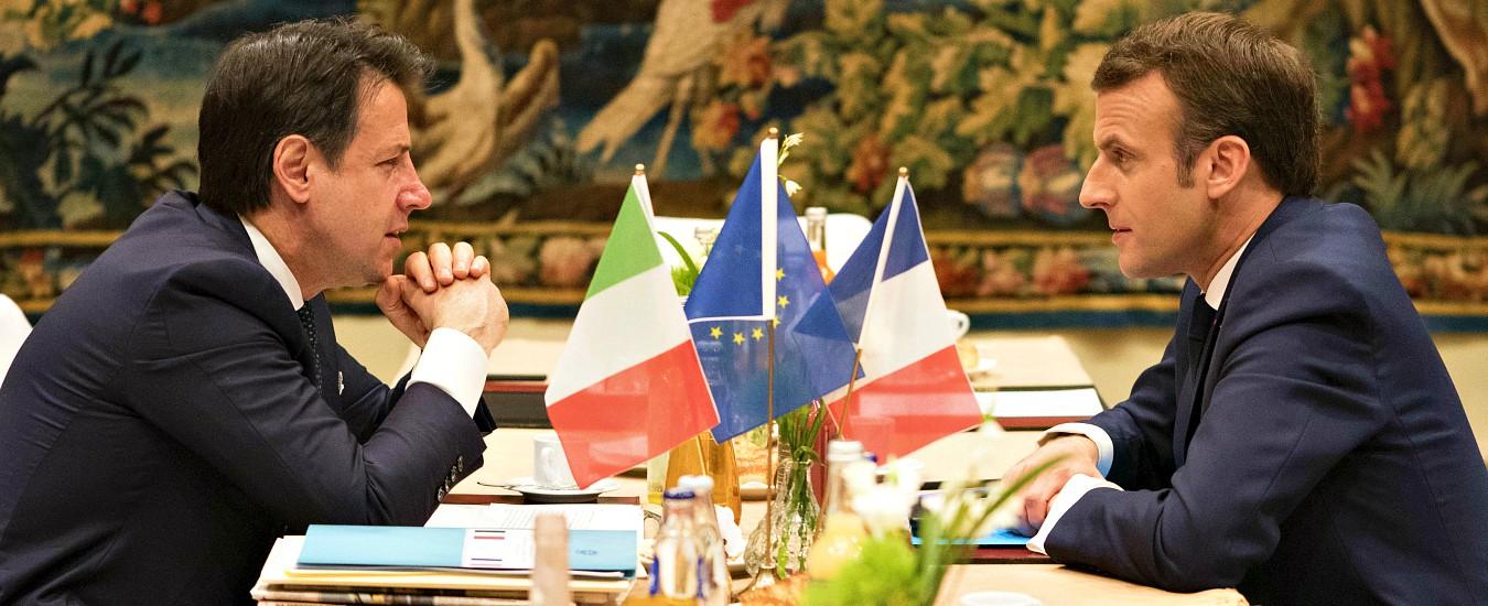 """Tav, Conte dopo il bilaterale con Macron: """"Abbiamo condiviso un metodo"""". Il capo di Stato francese: """"C'è impegno con l'Ue"""""""