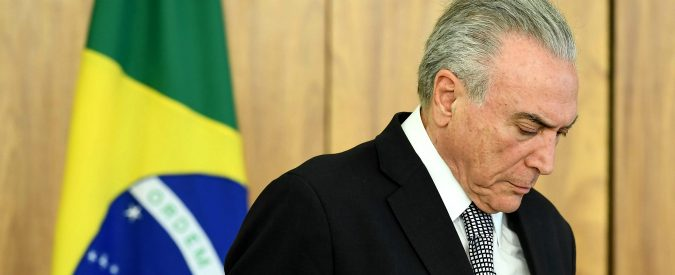 Brasile, Temer in carcere come Lula. Le opposizioni unite nella corruzione