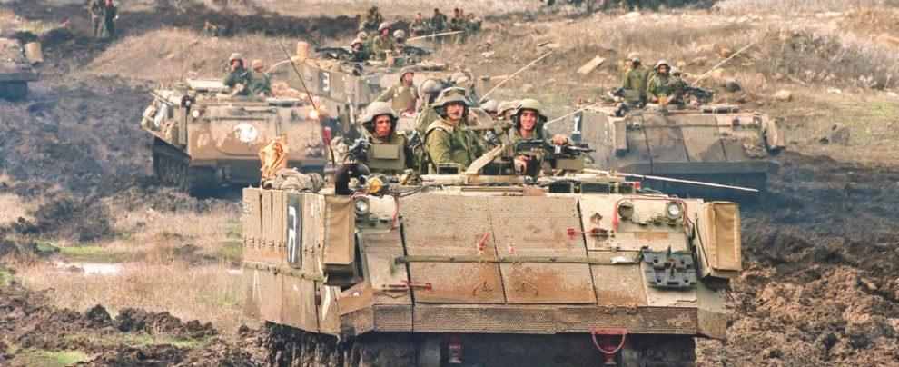 Sprint di Bibi sul Golan siriano
