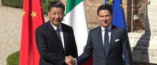 Via della Seta, l'arrivo del presidente cinese a Villa Madama per la firma del Memorandum: l'accoglienza di Conte