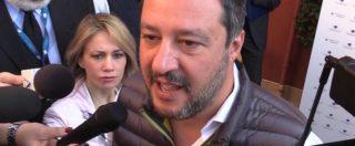 """Cittadinanza, Salvini: """"Rami vorrebbe Ius Soli? È una scelta che farà quando sarà eletto, intanto legge va bene così"""""""