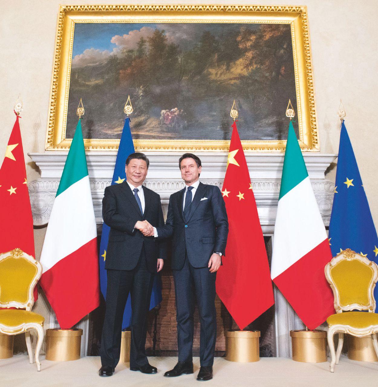 """Sul Fatto del 24 Marzo: per Xi Jinping il memorandum è """"un successo"""", Salvini lo attacca per compiacere gli Usa"""
