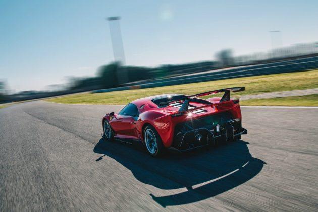 Ferrari P80/C, l'esemplare unico più estremo di sempre – FOT