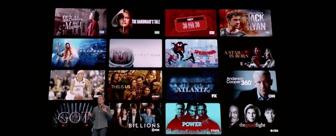 Apple TV+, News+ e Apple Card, tutte le novità dell'evento Showtime
