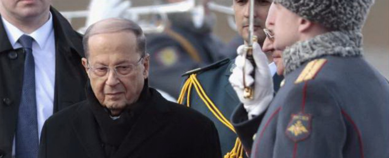 """Libano, presidente Michel Aoun: """"Presto nuove ondate migratorie verso l'Europa"""""""