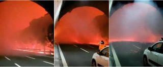 Genova, vasto incendio a Cogoleto: 50 famiglie evacuate e scuole chiuse. Le fiamme arrivano sull'autostrada A10