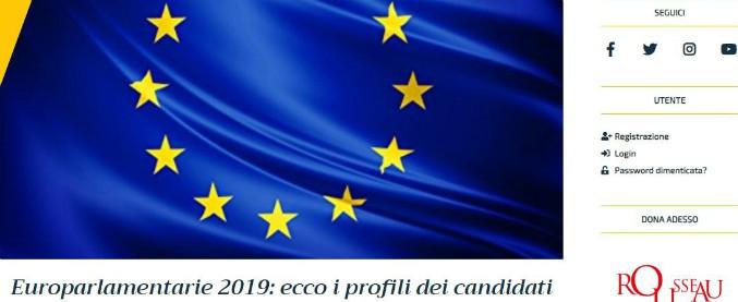 """Europee, online su Rousseau i profili dei 2600 candidati: """"Oltre il 70% è laureato, parlamentarie nei prossimi giorni"""""""