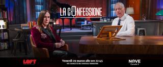 """La Confessione (Nove), Gomez ad Agnelli: """"Cosa pensa di Fedez?"""". """"Imprenditore pazzesco. Il peggior giudice di X-Factor? Ventura"""""""