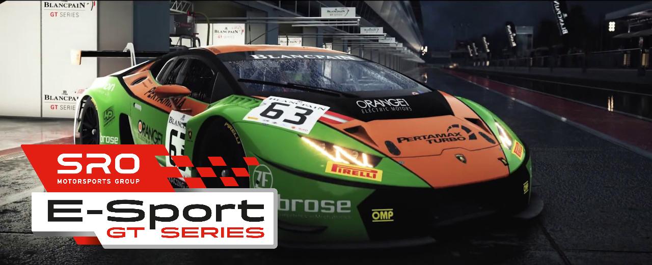 SRO E-Sport GT Series, parte da Monza il campionato GT virtuale con in palio un'esperienza con il team Lamborghini