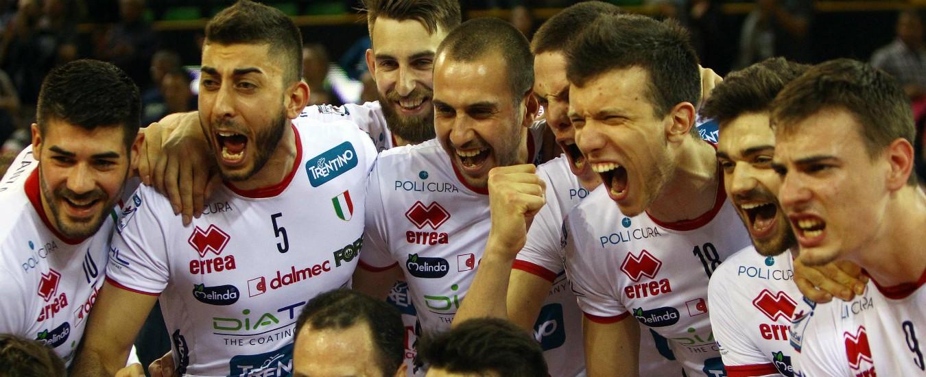 Coppa Cev di Pallavolo, Trento e Busto Arsizio sul tetto d'Europa. Doppio trionfo al maschile e al femminile dopo 7 anni