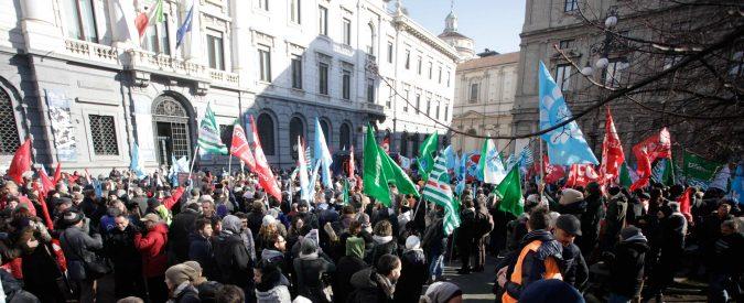 I sindacati bancari protestano contro le modifiche ai contratti? Quanta ipocrisia
