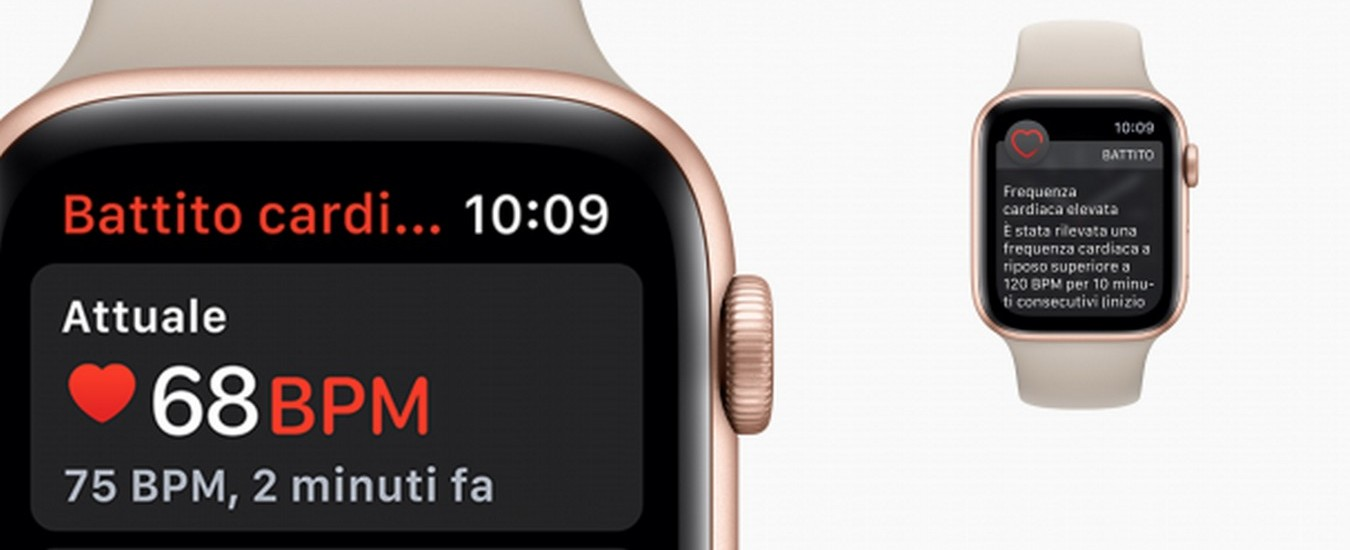 Apple Watch Serie 4 porta in Italia l'elettrocardiogramma da polso