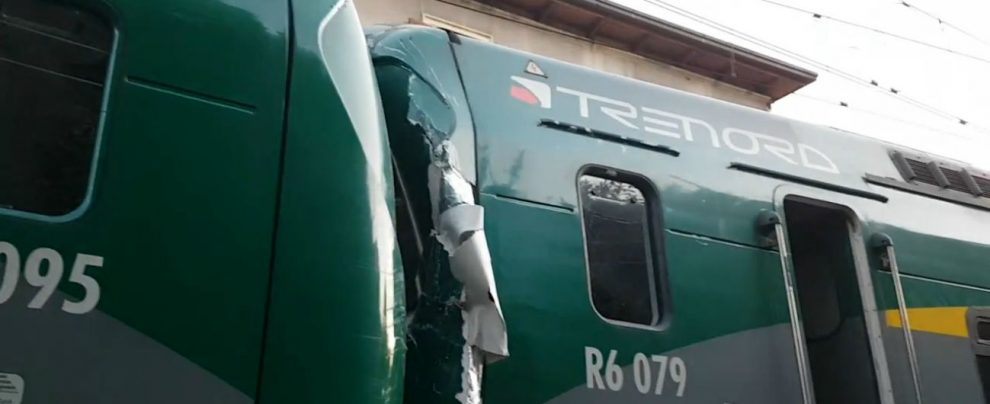 Immagine incidente trenord