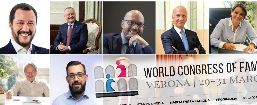 Congresso Verona, la comunione famiglia-sovranismo che fa comodo alla Lega. Ospiti i fedeli di Putin e gli amici di Fidesz