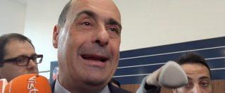 """Legittima difesa, Zingaretti: """"Atto irresponsabile, governo fugge da richiesta di sicurezza. Un favore a qualche lobby"""""""