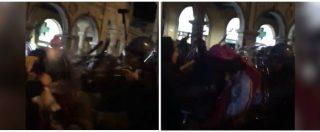 Padova, corteo antifascista cerca di raggiungere militanti di Forza Nuova: polizia carica i manifestanti. Il video