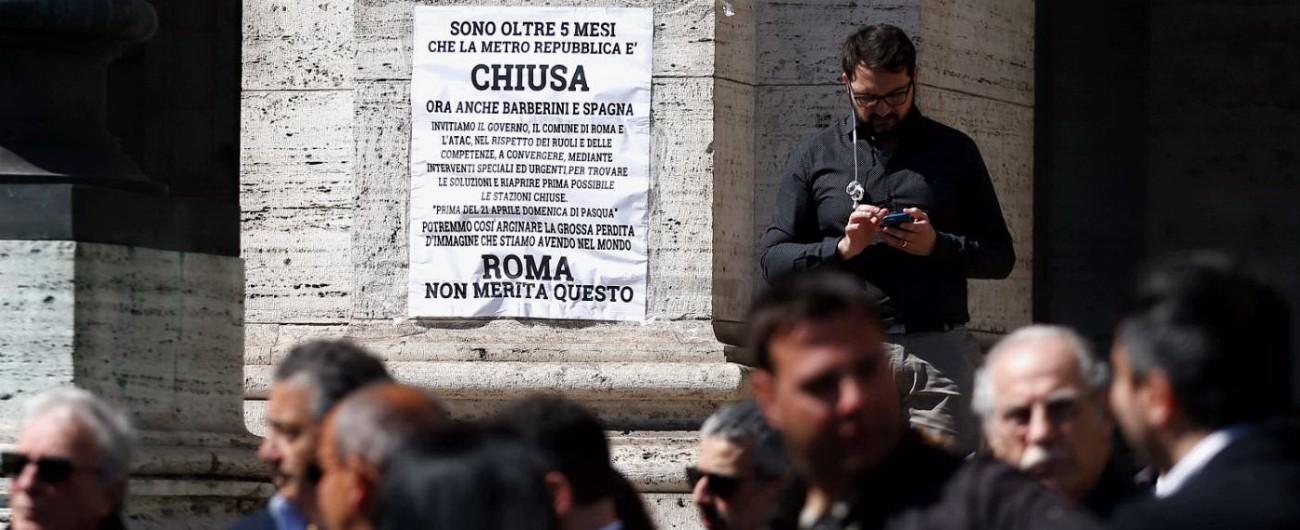 Roma, Procura toglie i sigilli alla fermata Repubblica. E Atac aumenta lo stipendio ai responsabili collaudo delle scale mobili