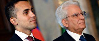 """Di Maio al Colle da Mattarella: """"M5s vuole che il governo continui"""". Il capo dello Stato chiede chiarezza"""